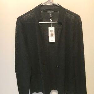 Eileen Fisher Notch Collar Blazer Petite Large NWT